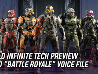 Halo Infinite Tech Preview contained