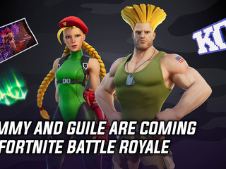 Cammy and Guile are coming to Fortnite Battle Royale