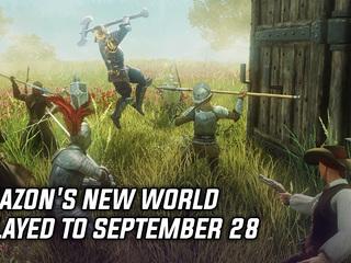 Amazon's New World delayed to September 28