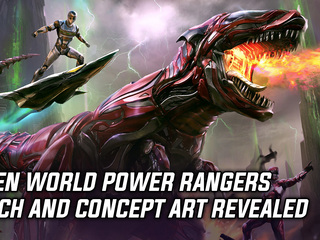 Open world Power Rangers pitch and art revealed