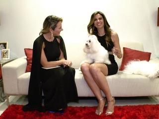 Gaida Dias conversa com Luciana Gimenez e Claudia Leitte